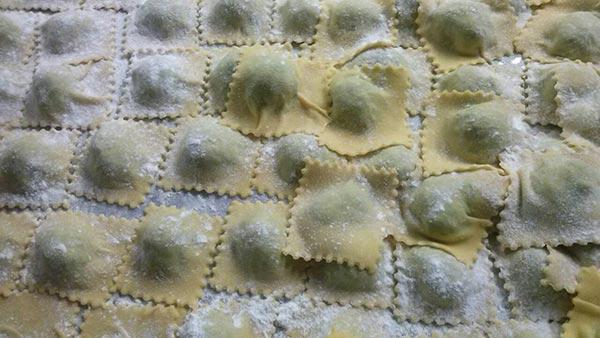 tortelli ripieni menù toscano invernale ristorante ad arezzo