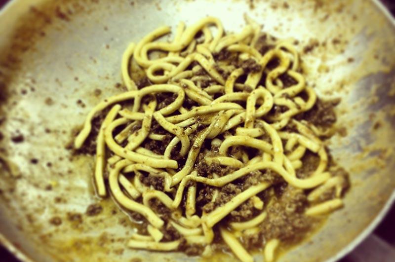 ricetta delle pappardelle al sugo di chingiale toscane