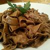 la ricetta delle Pappardella al sugo di chianina